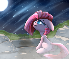 Lonely night by Madacon