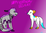 HAPPY *late* BIRTHAY SILVER! by Snowjemmer