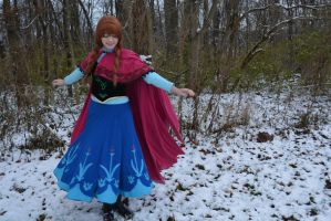 princess anna - for the first time in forever by Iris-Iridescence