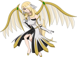 Mega Arceus Cynthia - Beautiful and Graceful by Hyper-sonicX