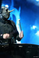 Slipknot, Chris Fehn by Miuquz