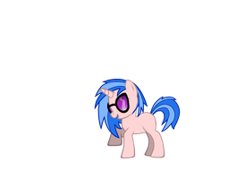 Vinyl Scratch Filly by Puppies567