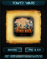 Tower Wars Icon by AuxRane