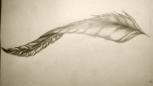 Feather by african-artist