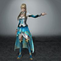 Dynasty Warriors 7 Wang Yuanji by ArmachamCorp