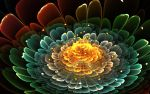 Apophysis 3d Flower by fengda2870