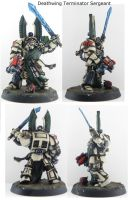 GW Deathwing Terminator Sergeant NMM by will-i-am119