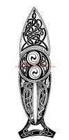 Celtic Spear by IkaikaDesign