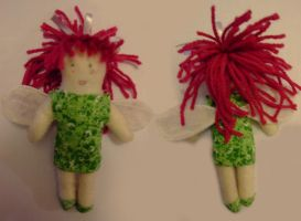 Forest Fairy Plushie by emothic-girl