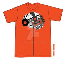 'Music is Always' Shirt by Flemhead