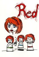 The Many Faces of Red by spookylittlegirl