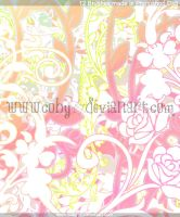 Vintage and Ornamental Flower Brushes by Coby17