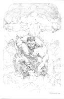 The Incredible Hulk by strngbroda