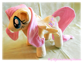 Fluttershy Plush by Allyson-x