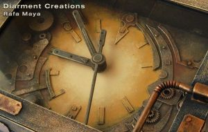 Steampunk Clock IV detail by Diarment