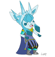 Frost King Glaceon by MarshallTrap