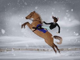Playing rodeo by BangGoesReality