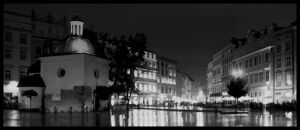 Cracow by night 4 by kazzdavore