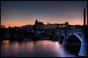 Prague Castle HDR by amrodel