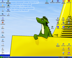 Desktop - April '09 by Mike-Dragon