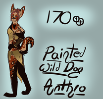 Painted Wild Dog Anthro Adopt .:OPEN:. by Owl-Flight