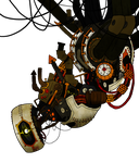 Steampunk GLaDOS by Homemade-Happiness