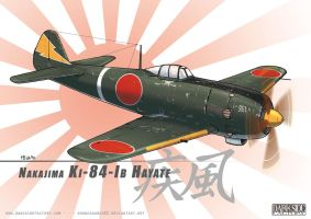 Ki-84 Ib Hayate - revised by Kronosaurus82