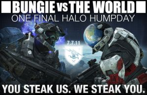 Bungie vs World by megadude234