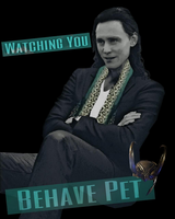 Behave-(Loki) by MischievousMonster