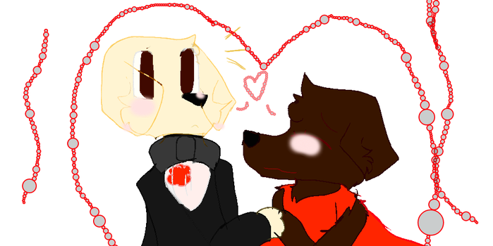 Max and Mocha by PuppyPuppies3321