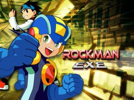 Rockman Exe by spacegirl19