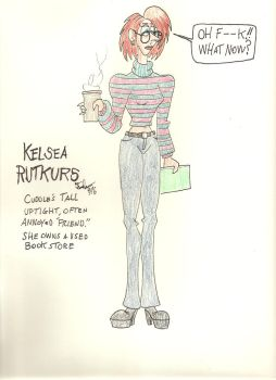 Kelsea Rutkurs, Cuddle's friend and roomate. by gothold