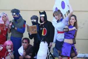 Naruto Group _ AW08 by lenceskymon