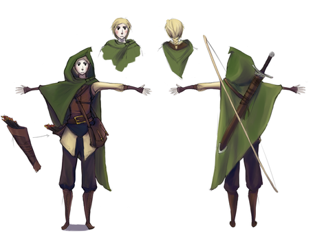 D 'n D character design by M03PS