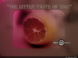A bitter taste of you LOL by BeCrew