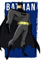 Tribute to Bruce Timm: New 52 Batman by crost92