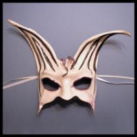 Rabbit Leather Mask by teonova