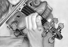 Violin by Windestaenzerin