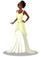 Princess Tiana by Stormweaver-Arts