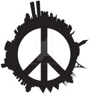World Peace Shirt Design by Ciminelli