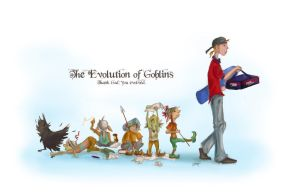 The Evolution of Goblins: Text by colloqui