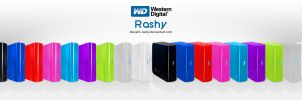 Western Digital Ext Hard Drive by deviant-Rashy