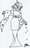 Graceful Tranquility-uncolored by Sailor-Destiny