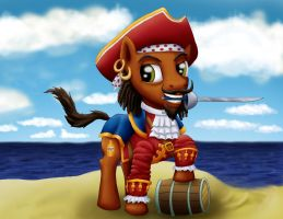 Captain Morgan Pony by DaOldHorse
