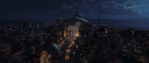 Theed at night [Ep1 (9)] by AlexSkullUterna