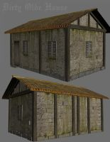 Old Medieval House by LuckyOutlook