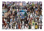 123 Doctor Who characters by rsienicki