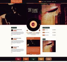 Music WordPress Theme by webdesigngeek