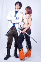 Gray x Erza by lordproject