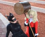 Selina and Harley: Making Mischief by UnequivocalGrace